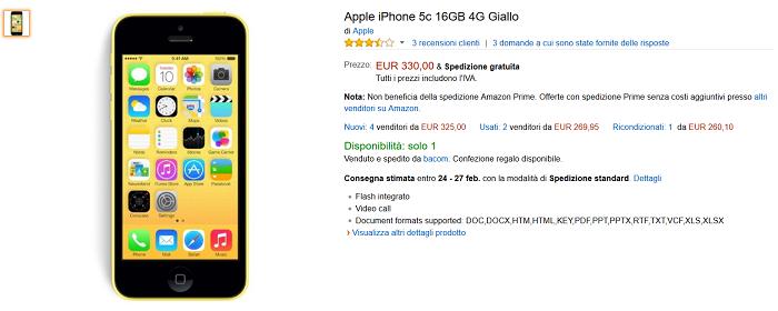 Amazon,-iPhone-5c-in-offerta-a-€-330-con-spedizione-inclusa-2