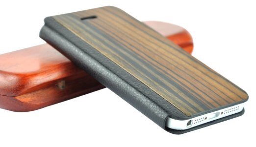 custodia legno iphone 5s