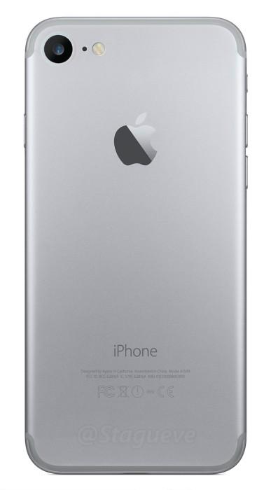 Back cover di iPhone 7 realizzata da un'artista