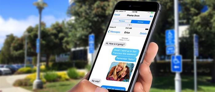 Display Zoom su iPhone