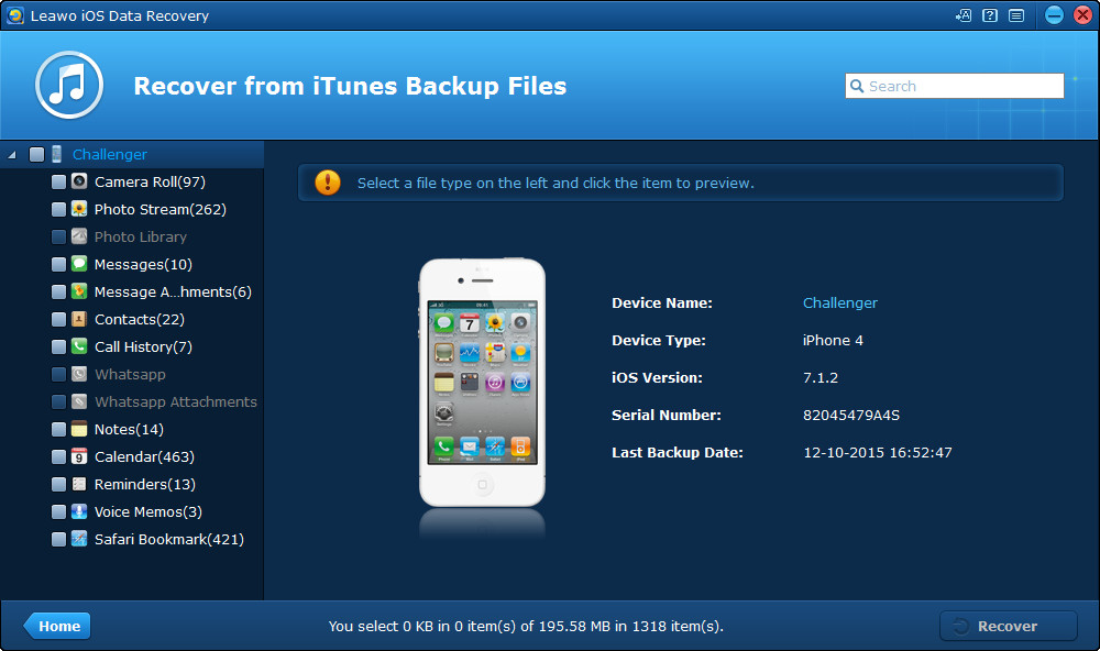 recover-from-itunes-backup-scanning-interface